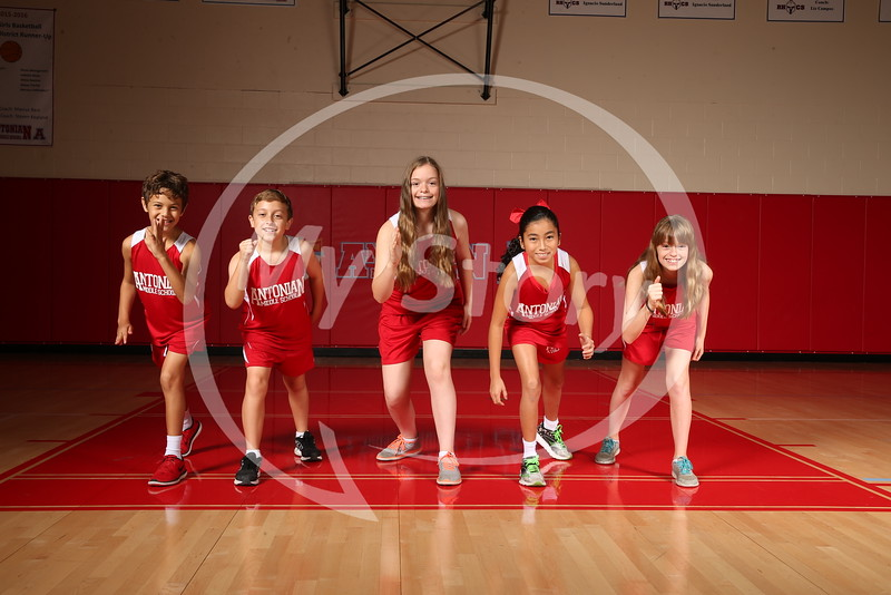 Antonian Middle X Country 2016-17