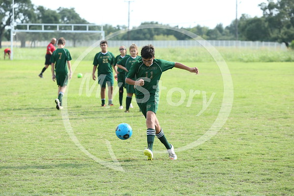 St Greg 2016 Soccer vs St Peter and Paul
