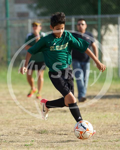 St Greg Soccer vs St Monica 2014