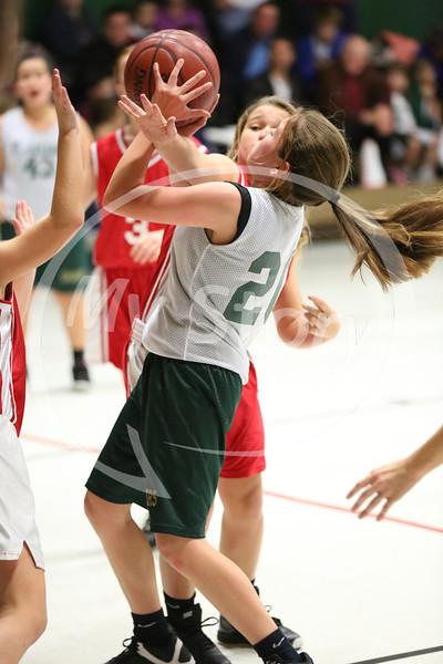 St Gregory B Girl Basketball