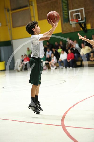 St Gregory Basketball A Boys vs Holy Spirit