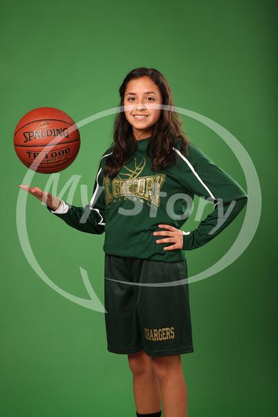 St Gregory Girl Basketball (A & B Teams) Portraits and Team