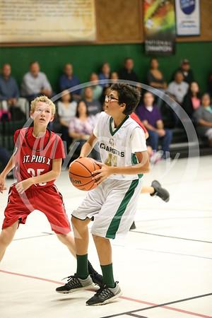 St Gregory StG B-Boy Basketball Action