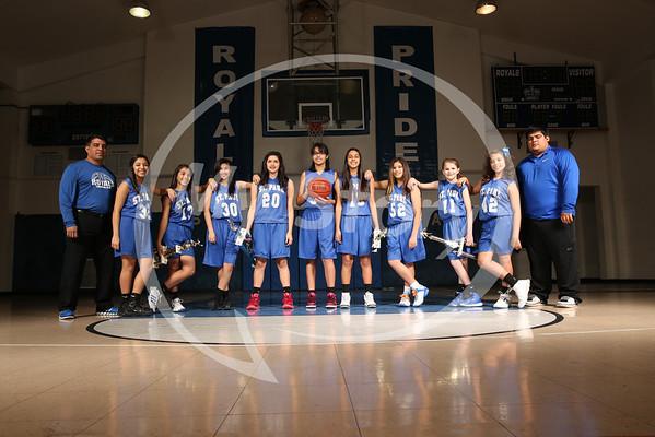 St Paul Girls Basketball 2013-14