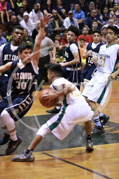 StG Gregory Basketball vs Holy Cross