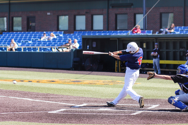 Braves<br /> Braden playing for the Braves.