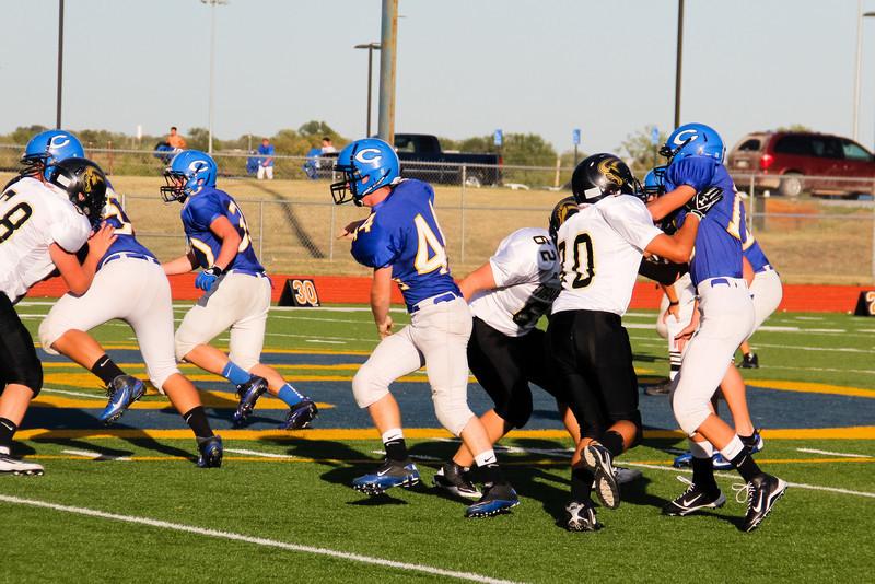 Circle Freshmen Football vs South Maize