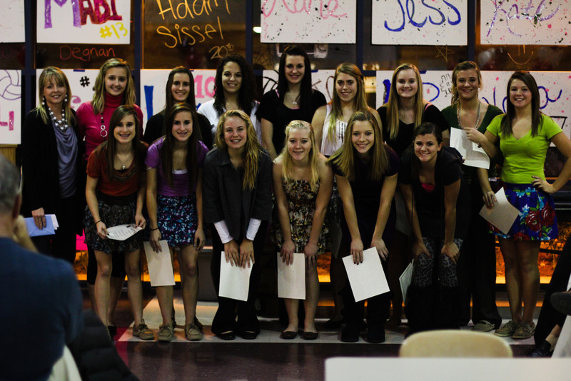 Volleyball Banquet