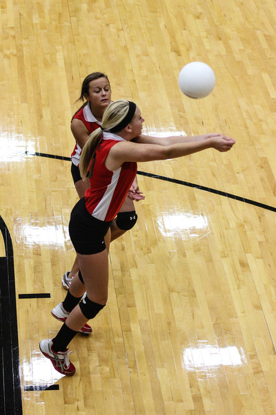 Rocket Freshmen Volleyball<br /> Rose HIll Rocket Freshmen at Andover Central Tournament