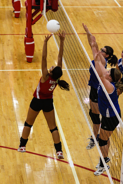 Rose Hill Varsity Volleyball<br /> Rose Hill Rockets vs Winfield & Wellington