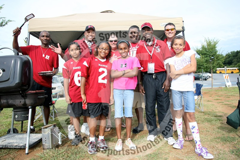 Hillgroves Hawks first ever tailgate party, 2009