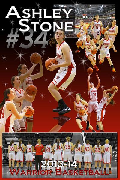 Ashley Stone - Susquehannock Girls Basketball 2013-14 Season
