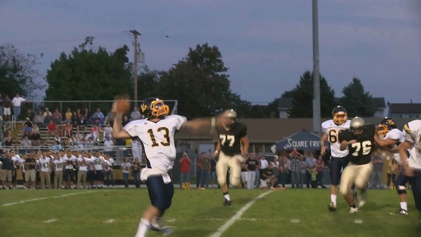 2012 High School Football - Littlestown @ Delone Catholic