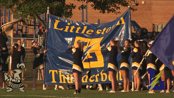 In week 3 action, the Littlestown Thunderbolts put on a historic performance and marched to the tune of 47 first half points. With the game pretty much in hand by halftime, the second half moved quickly with little highlights and the final score ending up a 47-7 win for Littlestown over Delone.