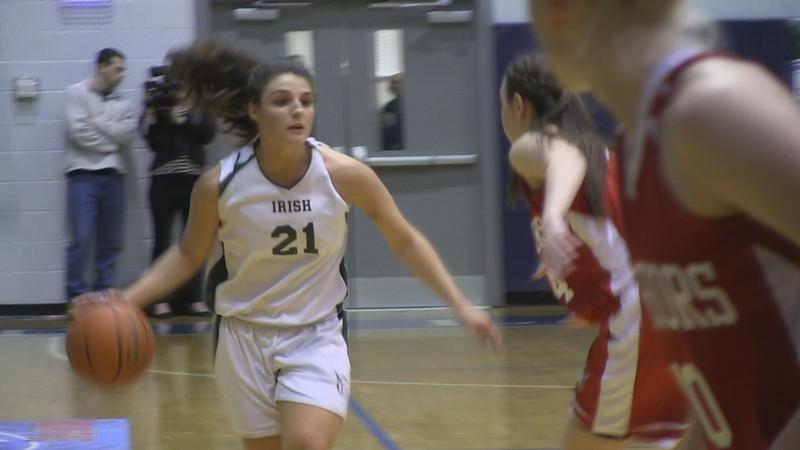 2014 YAIAA Girls Basketball (Counties) - York Catholic Vs. Susquehannock