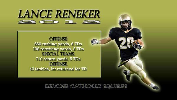 Lance Reneker - Senior Highlights