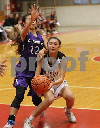 HBA vs Pearl City HHSAA Girls Div II Basketball QTR Finals