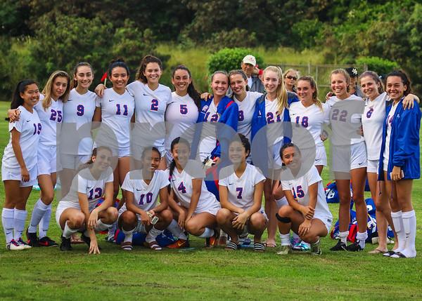 Seabury vs Kauai HHSAA 1st Round Girls State Soocer Championships