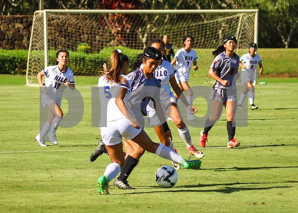 Iolani vs Hilo HHSAA GIrls Soccer Championships