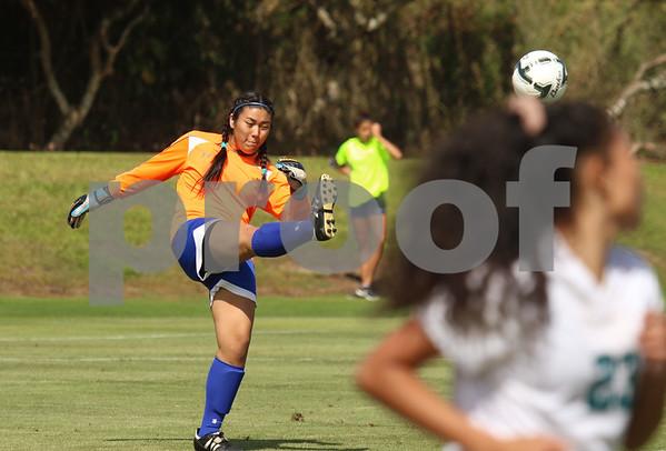 Kaiser vs King Kekaulike HHSAA Girsl Soccer Championships