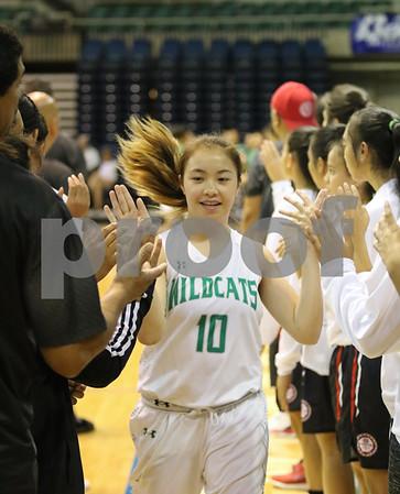 Lahainaluna vs Konawaena HHSAA Girls Basketball DI Semis