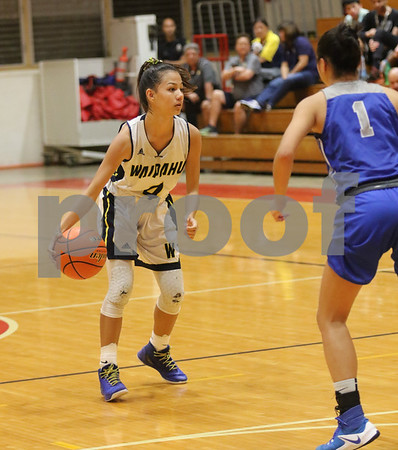 Le Jardin vs Waipahu HHSAA Girls Div II Basketball QTR Finals