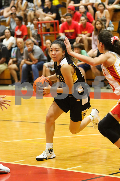 Roosevelt vs HBA HHSAA State Girls Basketball Championships DII QTR Finals