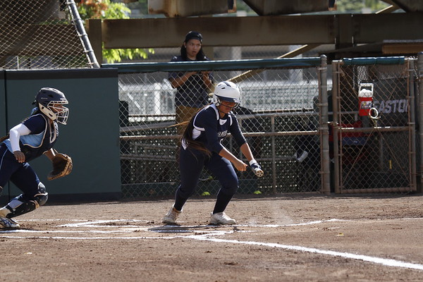Kamehameha vs St Francis HHSAA Div II Softball Semi-Final Game