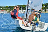 Fun at Little Traverse Sailing School in Harbor Springs, captured by photographer, Sandra Lee