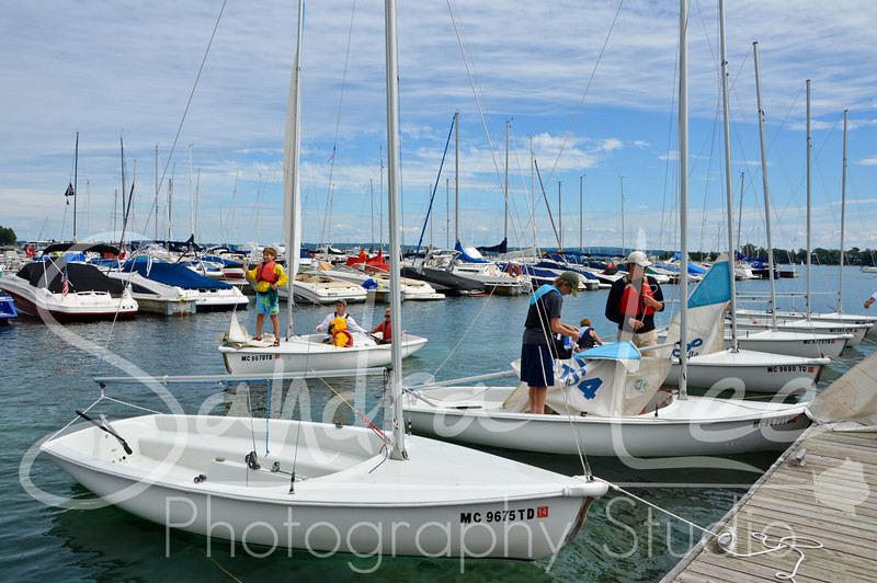 Fun at Little Traverse Sailing School in Harbor Springs, captured by photographer, Sandra Lee.