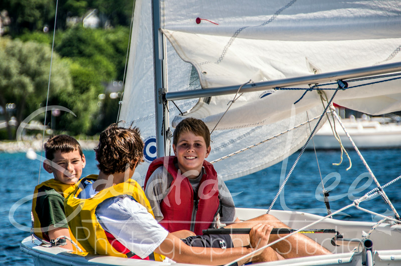 2014 Little Traverse Sailors Sailing School - Harbor Springs - Week of June 30 AM Session