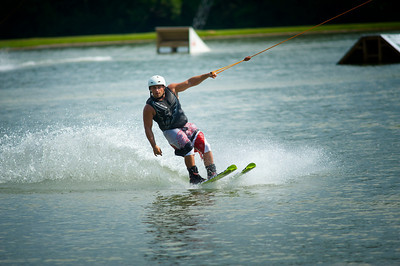 Professional Wakeboarder Chad Buechler at the Wake Nation Grand Opening
