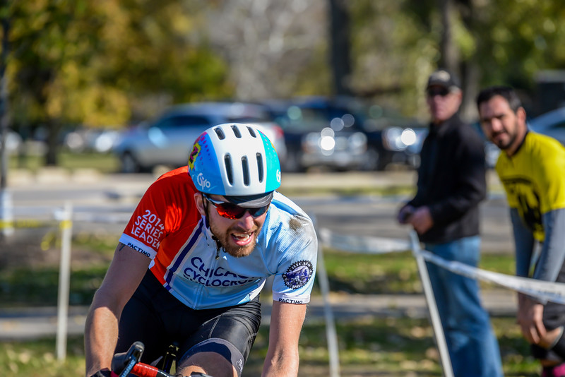 Junior 15-18 & Single Speed - 2014 Dan Ryan Woods Cyclocross Race