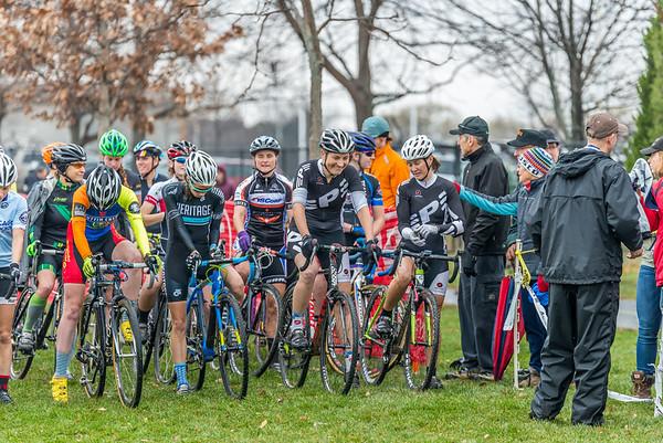 Women Cat 1/2/3 - 2014 Melas Park Basin Racin Cyclocross Race