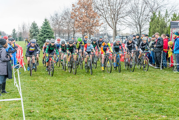 Women Cat 1/2/3 - 2014 Melas Park Basin Racin Cyclocross Race
