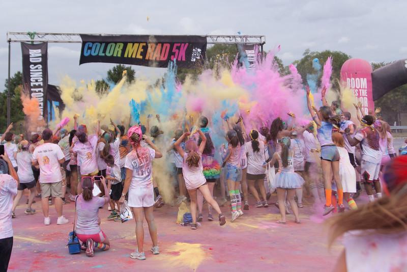 August 2014 - Color me RAD 5K