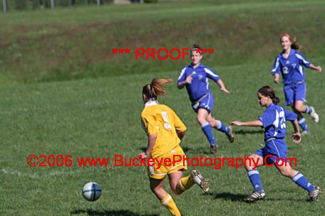 Bay Village vs Avon - Girls Junior Varsity Soccer (10/07/2006)