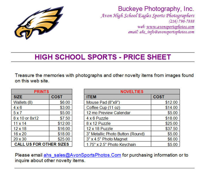 00_Sports Photo Pricing