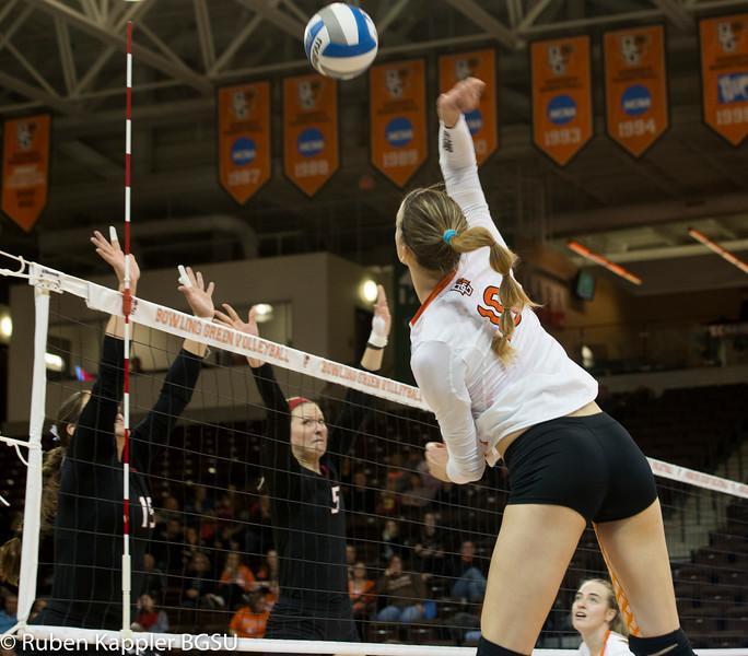 Volleyball vs northern Illinois 11/14/2015