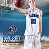 #21 5x7 JACKSON SAYRE Carson Boys VARSITY TEAM - 2017Faith Photography NV 2Kl