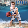 #25 5x7 HUNTER RAUH Carson Boys VARSITY TEAM - 2017Faith Photography NV 2Kl