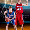 #45buddy 5x7 VERTICAL RHS FRESHMAN boys basketball