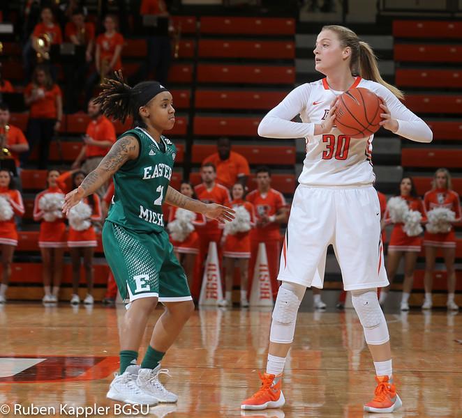 Womens basketball vs EMU 1:27:2015