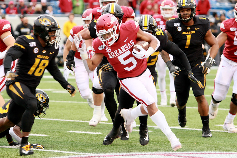 Missouri at Arkansas