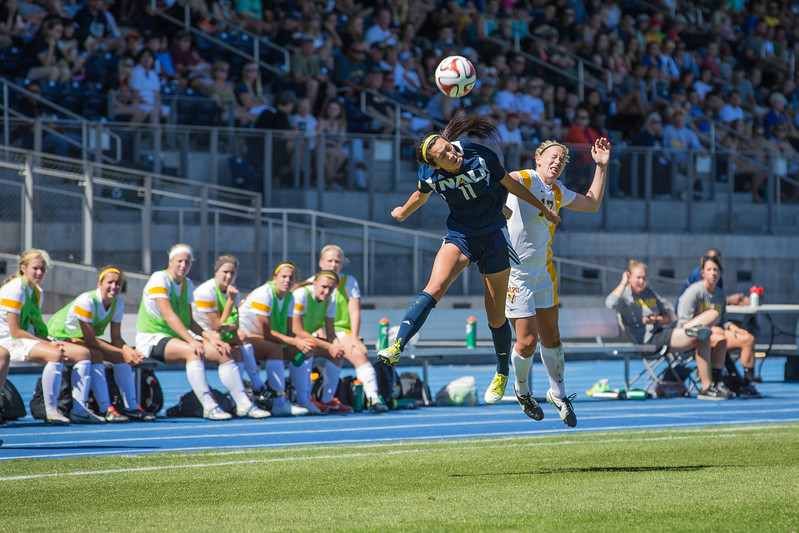 Northern Arizona University soccer, 31 August 2014