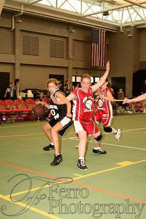 Lady Hawks vs Rage Hoops @ Hillhouse HS 6-27