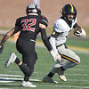 Cassville's DJ White looks to get past Odessa's Blake Heitman (32) during their Class 3 Championship game on Saturday at Columbia.<br /> Globe | Lurie Sisk