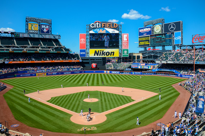 2018 SF Giants at NY Mets