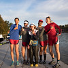 Winsor crew at the Head of the Charles