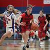 WPIAL Girls Basketball Class 5A Quarterfinals. No.2 Chartiers Valley defeats No. 7 McKeesport 65-47 at Chariers Valley High School.